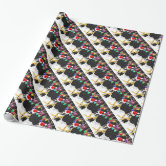 Boston Terrier Christmas Wrapping Paper