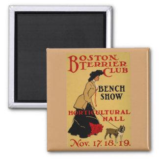 Boston Terrier Club Magnet