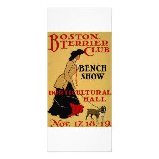 Boston Terrier Club Full Color Rack Card