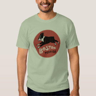 Boston Terrier Cool Vintage Style T-shirt