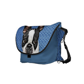 Boston Terrier Courier Bags