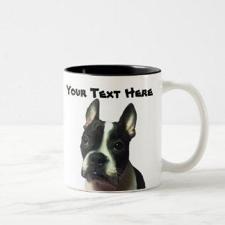 Boston Terrier Custom Mug