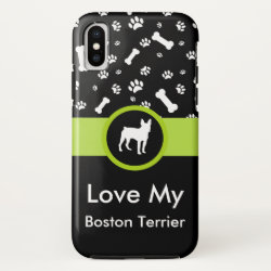 Case-Mate Barely There iPhone X Case with Poodle Phone Cases design