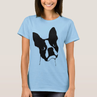 Boston Terrier- cute face T-Shirt