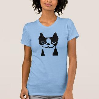 Boston Terrier - Cute Smiley Face Dog T Shirt