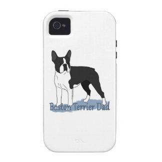 Boston Terrier Dad 2 iPhone 4 Case