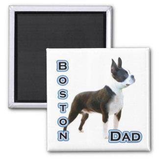 Boston Terrier Dad 4 - Magnet