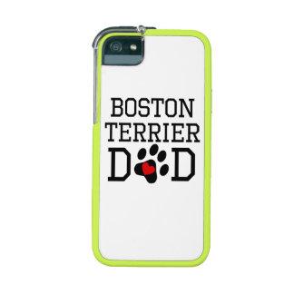 Boston Terrier Dad iPhone 5 Cases