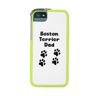 Boston Terrier Dad Case For iPhone 5
