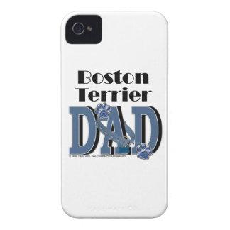 Boston Terrier DAD Case-Mate iPhone 4 Cases