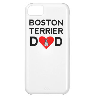 Boston Terrier Dad iPhone 5C Covers