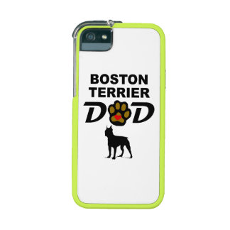 Boston Terrier Dad iPhone 5/5S Cover