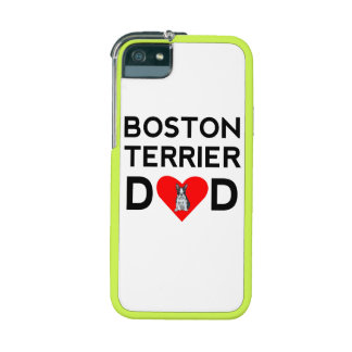 Boston Terrier Dad Cover For iPhone 5/5S