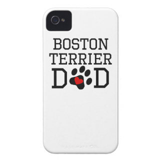 Boston Terrier Dad iPhone 4 Covers