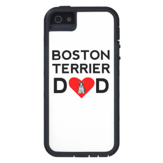 Boston Terrier Dad iPhone 5 Cover