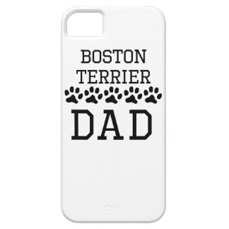 Boston Terrier Dad Case For iPhone 5/5S