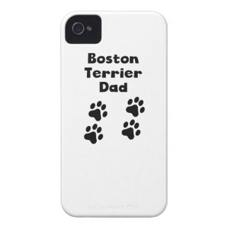 Boston Terrier Dad Case-Mate iPhone 4 Case
