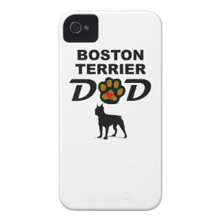 Boston Terrier Dad iPhone 4 Case-Mate Case