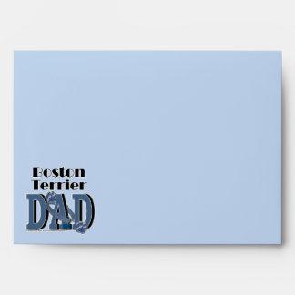 Boston Terrier DAD Envelopes