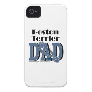 Boston Terrier DAD iPhone 4 Cover