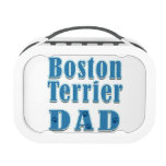 Boston Terrier Dad Lunchbox