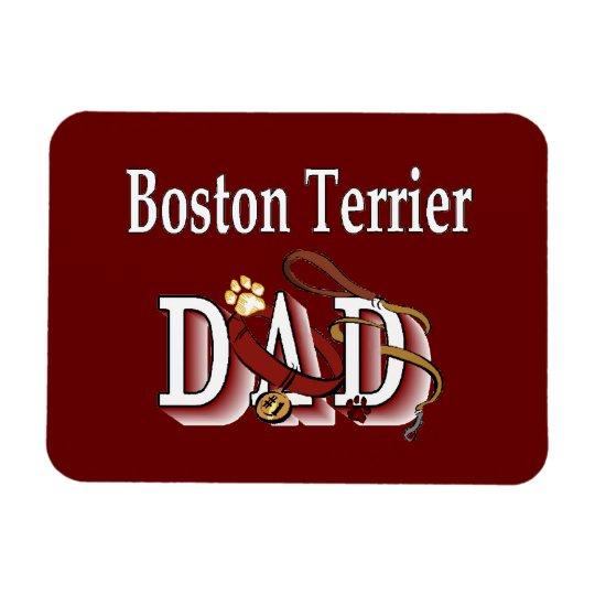 Boston Terrier Dad Magnet