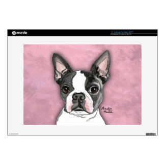 Boston Terrier Decal For Laptop