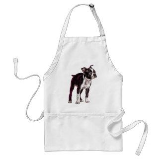 Boston Terrier Delantal
