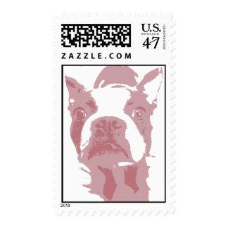 Boston Terrier Design Stamp