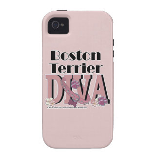 Boston Terrier DIVA iPhone 4/4S Cover