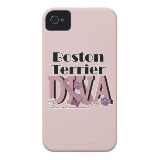Boston Terrier DIVA Blackberry Cases
