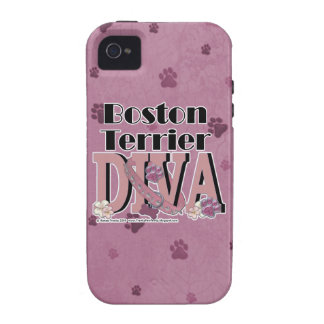 Boston Terrier DIVA Case-Mate iPhone 4 Case