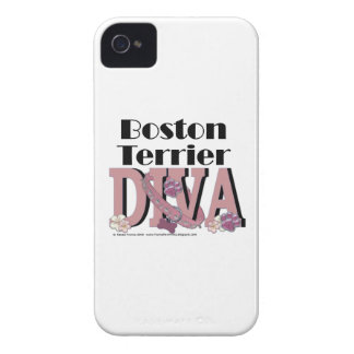 Boston Terrier DIVA iPhone 4 Case