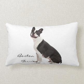 Boston Terrier dog beautiful photo, custom cushion