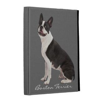 Boston Terrier dog beautiful photo, custom gift iPad Folio Covers