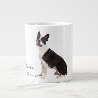 Boston Terrier dog beautiful photo custom gift Large Coffee Mug