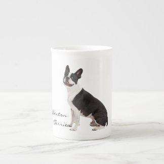 Boston Terrier dog beautiful photo custom gift Tea Cup