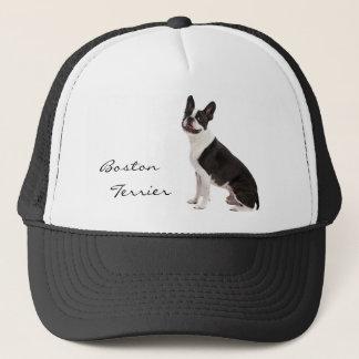 Boston Terrier dog beautiful photo custom hat gift