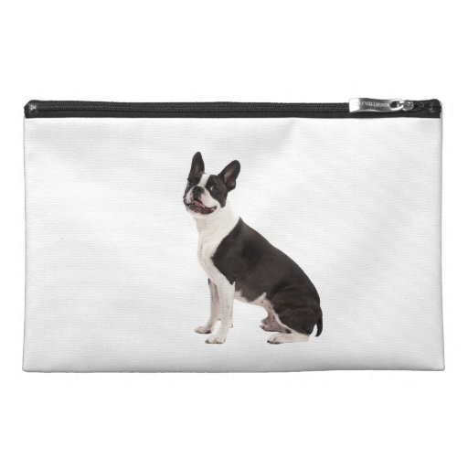 Boston Terrier dog beautiful photo, gift Travel Accessory Bags