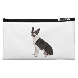 Boston Terrier dog beautiful photo, gift Cosmetic Bag