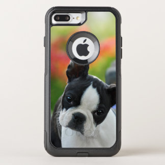 Boston Terrier Dog Cute Puppy Pet Photo - on OtterBox Commuter iPhone 7 Plus Case
