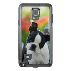 OtterBox Commuter Samsung Note 4 Case with Bull Terrier Phone Cases design