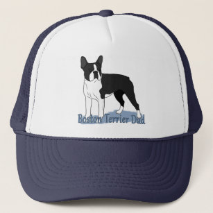 78dd9b1f631 Boston Terrier Dog Dad Trucker Hat