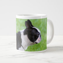 Boston Terrier dog Extra Large Mug