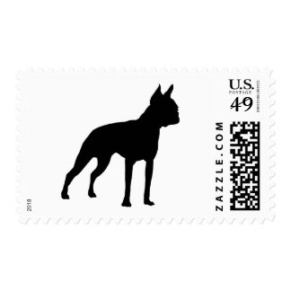 Boston Terrier Dog Gifts (black) Postage