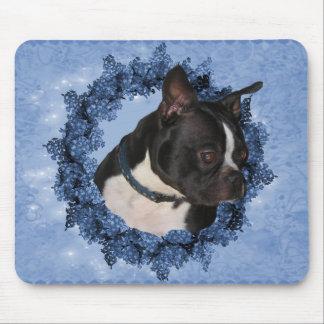 Boston Terrier Dog Mousepad