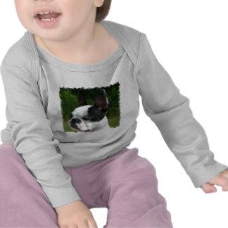 Boston Terrier Dog Photo Infant Creeper