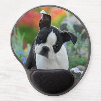 Boston Terrier Dog Puppy Gel Mouse Pad