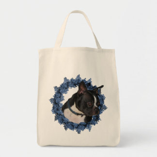 Boston Terrier Dog Tote Bag