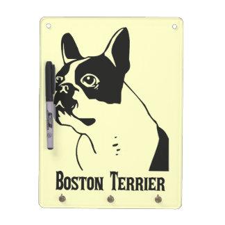 Boston Terrier Dry Erase Board